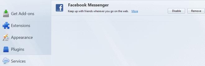 firefox facebook messenger