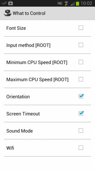 android customize apps