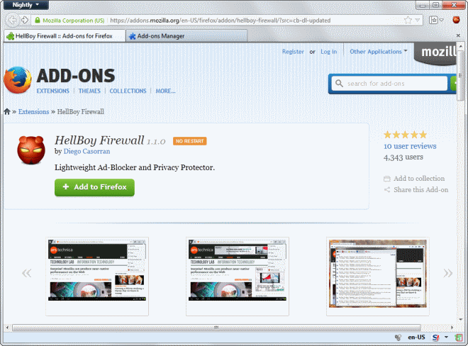 My World Thru A Web Browser: The Best Firefox Addons- from