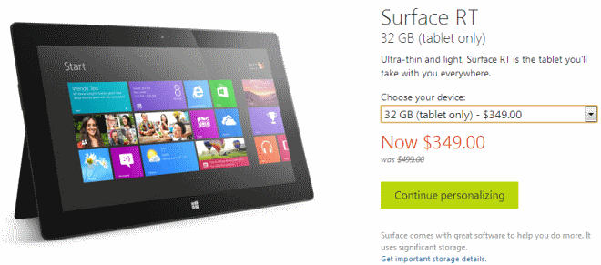 surface rt price cut