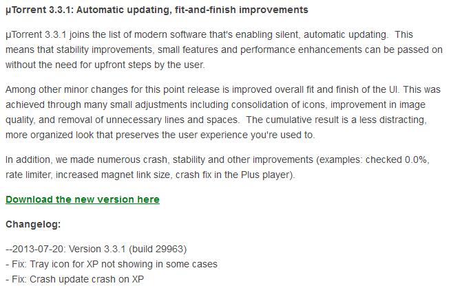 utorrent forum