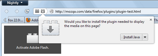 missing plugins firefox