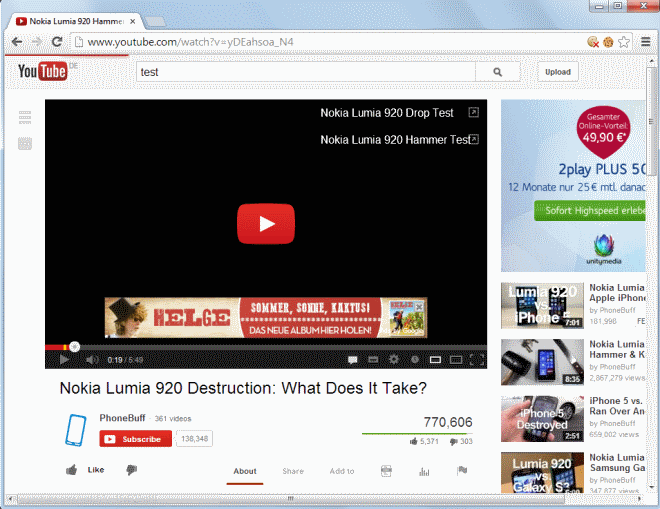 youtube faster loading