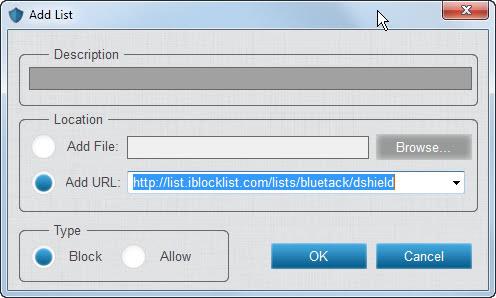 add block list