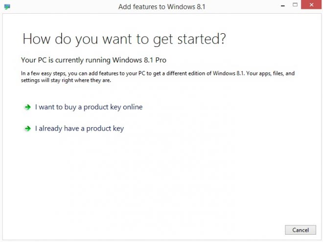 add features to windows 8.1