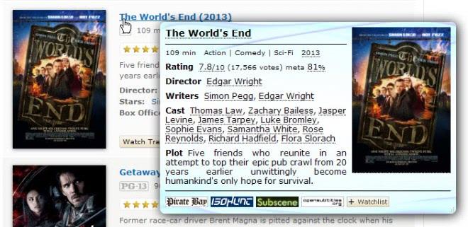 imdb info