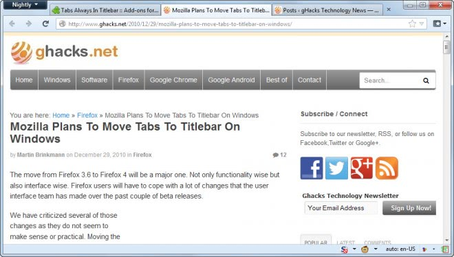 firefox tabs in titlebar
