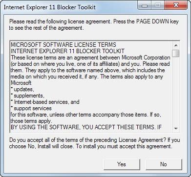 internet explorer 11 blocker toolkit