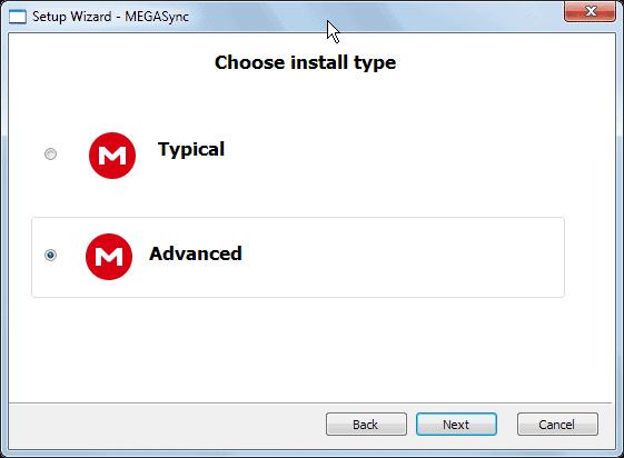 MegaSync: Mega's synchronization client for Windows ...