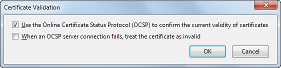 oscp server connection