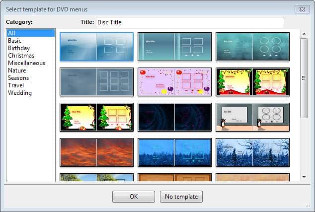 DVD-template