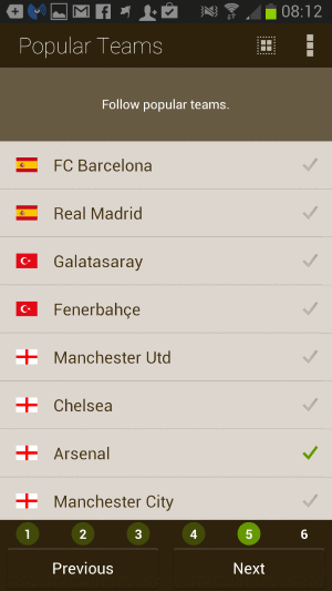 football app android