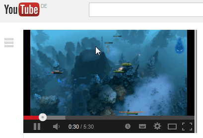 youtube player resize