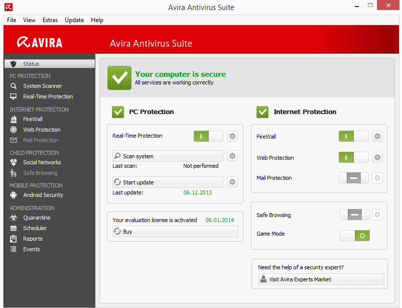 avira antivirus suite 2014 review
