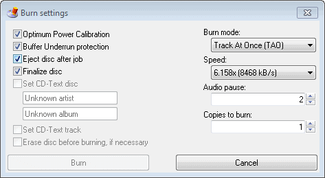 burn-audio-cd