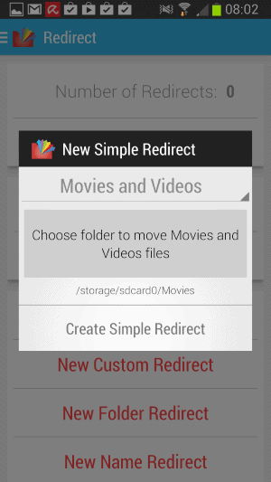 redirect pro android