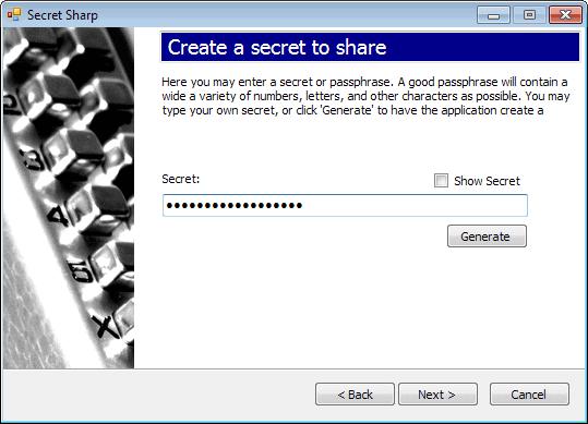 create secret