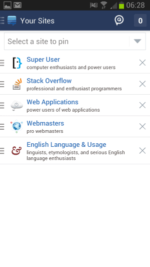 stack overflow mobile