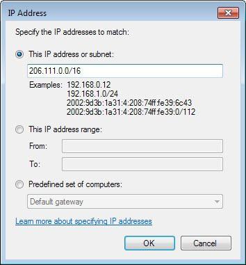 How to block IP ranges in Windows Firewall - gHacks Tech News