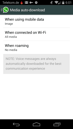 media auto download