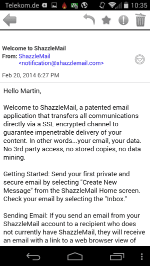 shazzlemail-android
