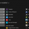 select multiple apps windows 8.1