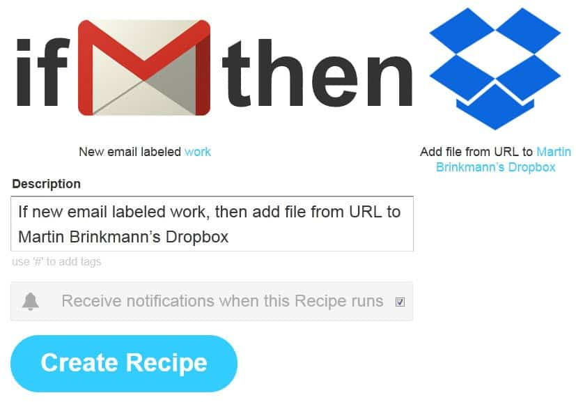 Transfer select Gmail attachments automatically to file hosting providers