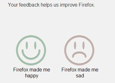 firefox happy sad