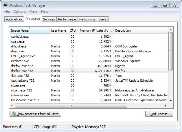 firefox high memory usage