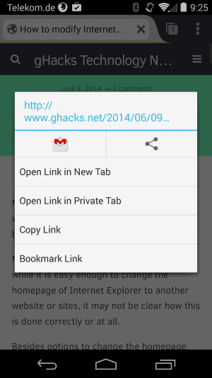 firefox quickshare android
