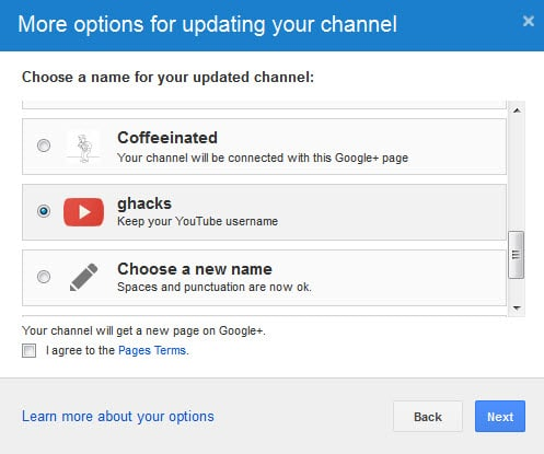 youtube forced google+