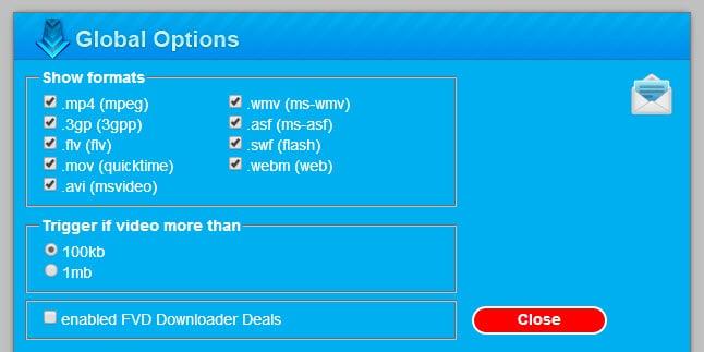 disable fdv downloader ads