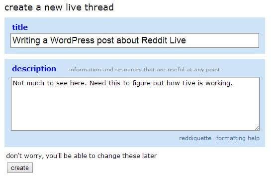 Reddit launches Live, a real-time update tool