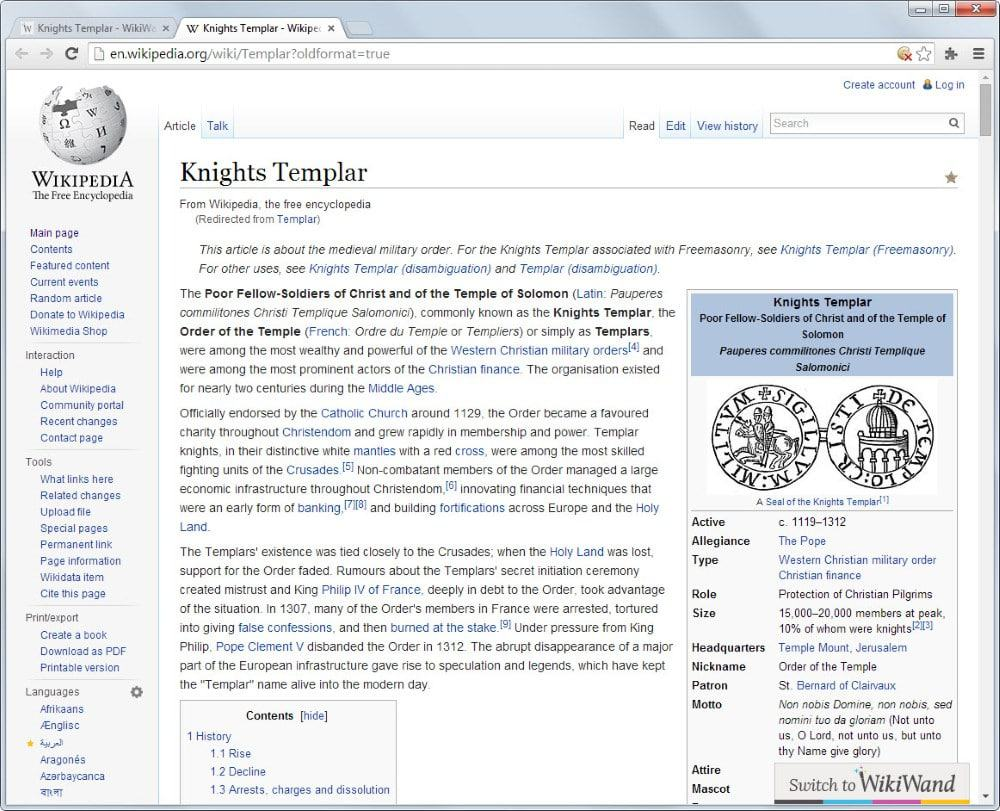 wikipedia article