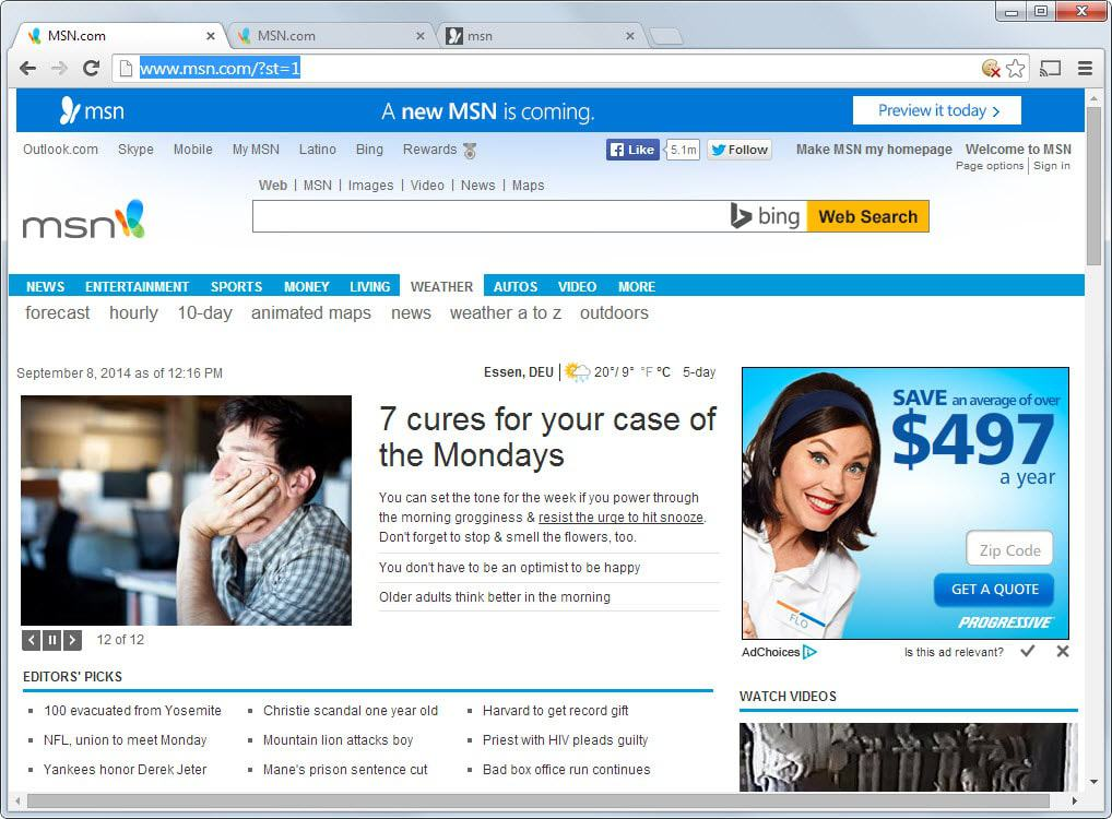 This Is What The New MSN Homepage Looks Like