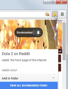 how to show bookmark page in google chrome