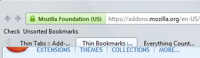firefox reduce height tabs bookmarks