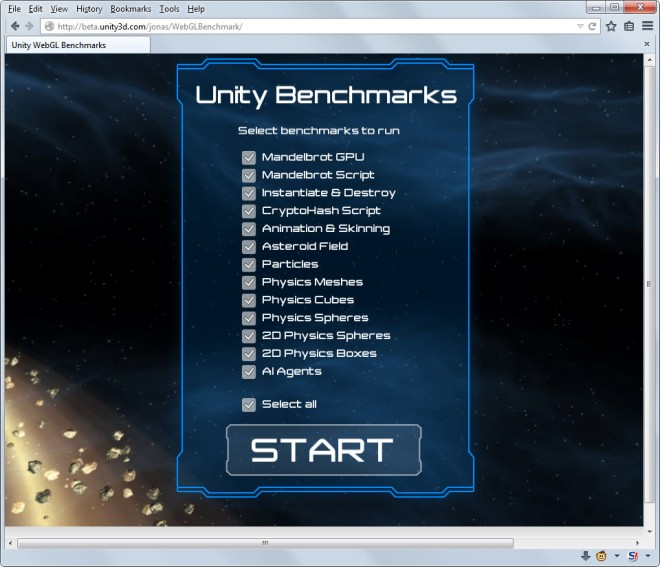 Unity Browser