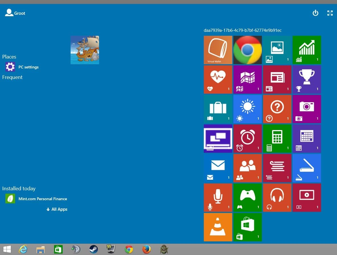 continuum windows 10