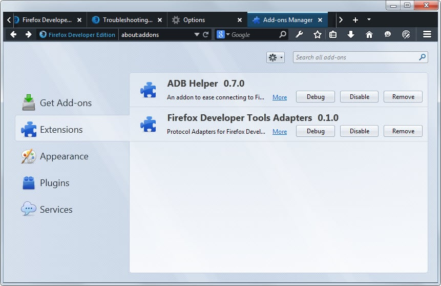 A first look at Firefox's new Developer Edition | WebMania