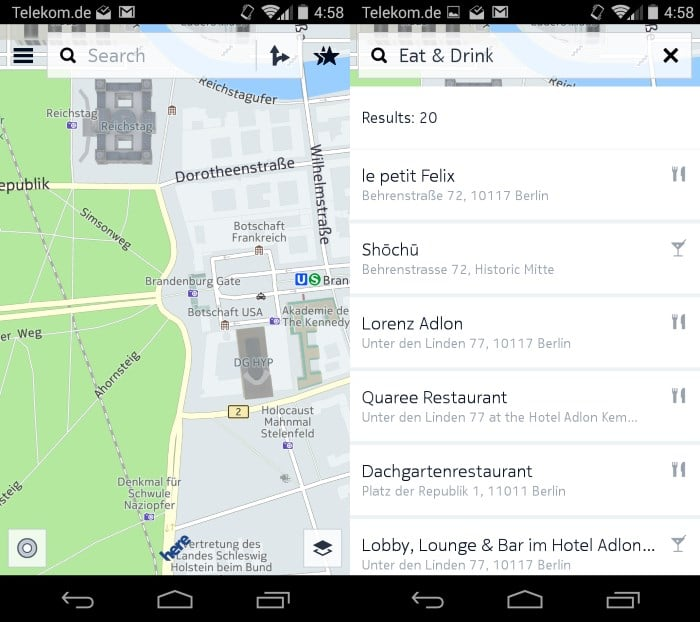 nokia here now available on google play offline maps and more