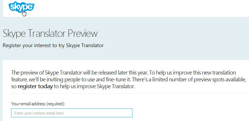 How to join the Skype Translator Preview right now