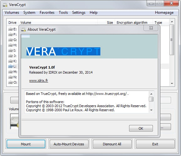 VeraCrypt update brings TrueCrypt volume support - gHacks ...