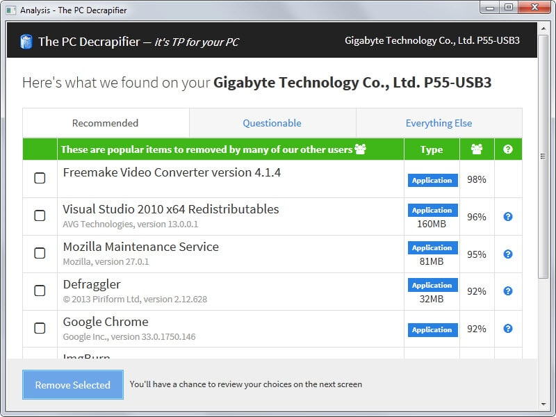PC Decrapifier 3.0 is a rewrite of the trialware and crap remover for ...