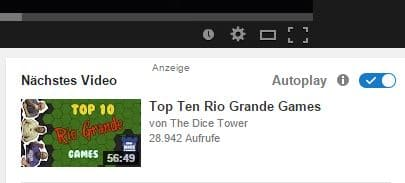 youtube autoplay recommended