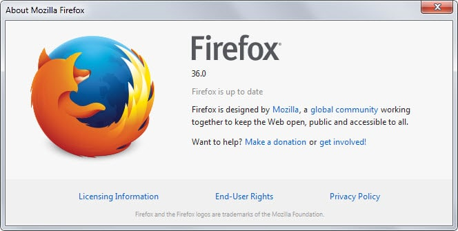 Firefox 36 Find out what is new