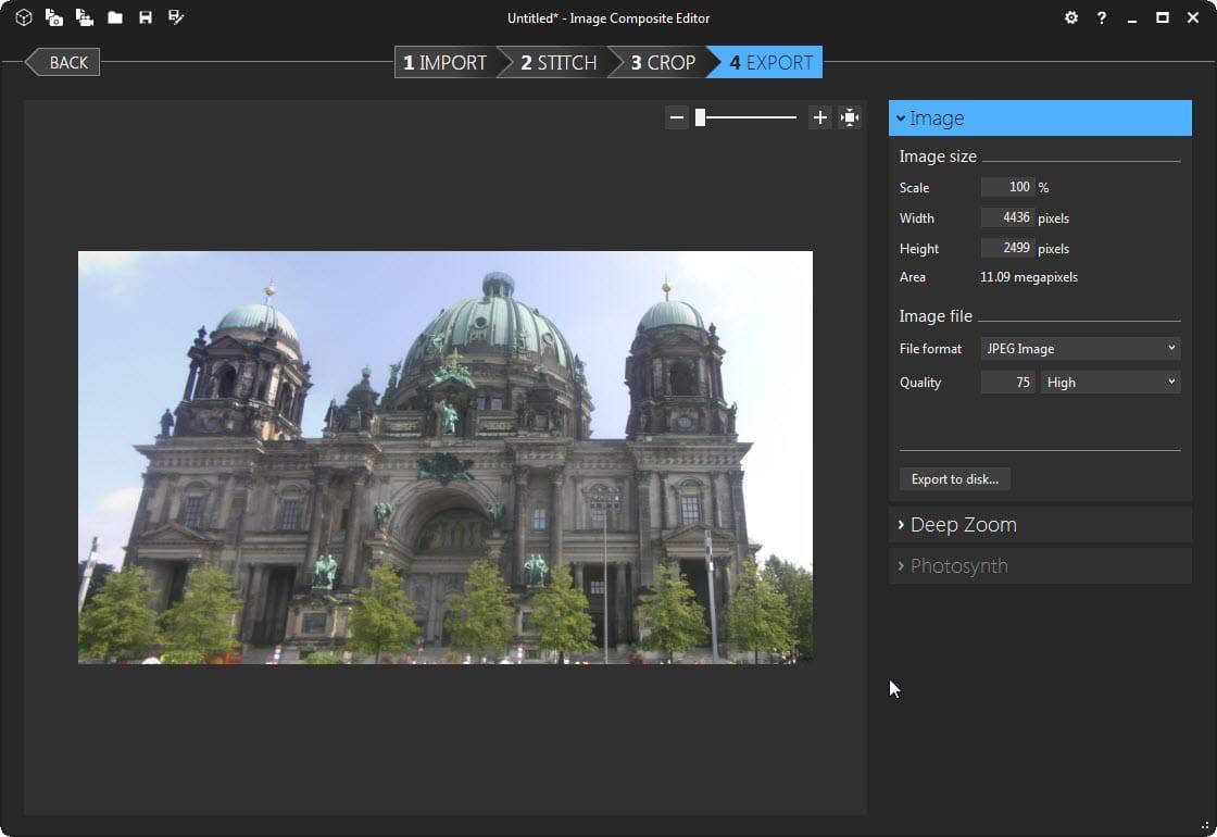 microsoft image composite editor 4