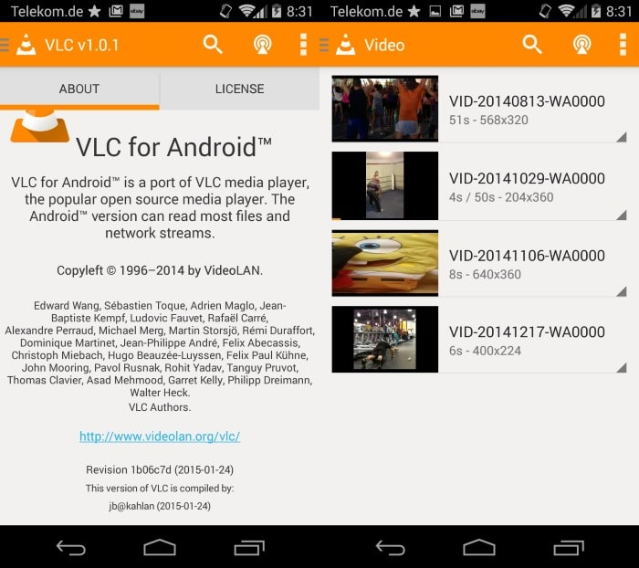 vlc for android stable