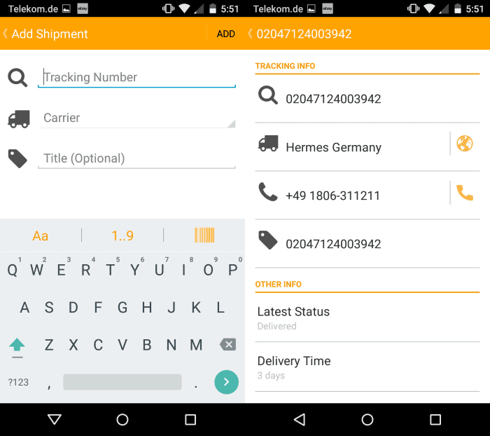 AfterShip is probably the best Package Tracker for Android ...