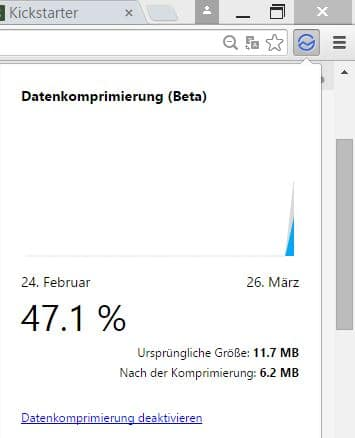 data saver google chrome